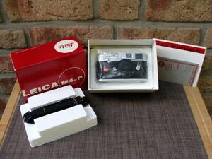 Leitz-Leica-10416-Leica-M4-P-1913-1983-034-Neuwertiges-Sammlerstueck-034-OVP