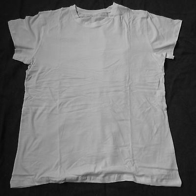 f7z WWII US ARMY INFANTRY ARMY ISSUE COMBAT SERIVE WHITE TEE SHIRT- SIZE 2