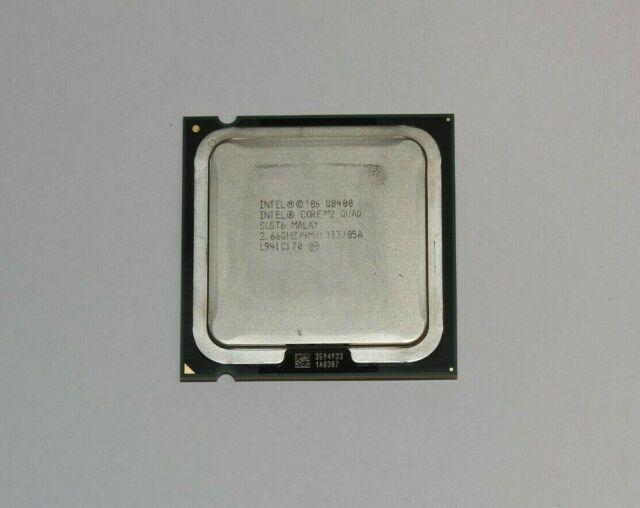 Intel Core 2 Quad Q8400 2,66 GHz Quad-Core Prozessor + Wärmeleitpaste