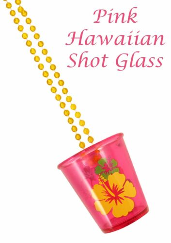 8 x Hen Night Party Shot glaases 4 ASTD Couleurs Hawaïen Thème BBQ Beach Party