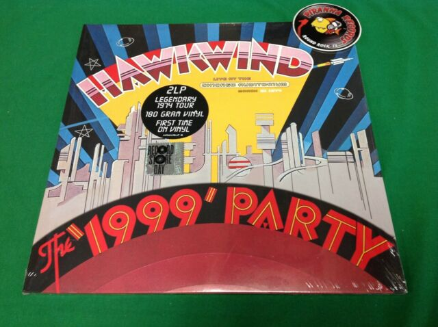 Hawkwind Live At Chicago Auditorium Rock LP Vinyl RSD 2019 NEW Piranha Records