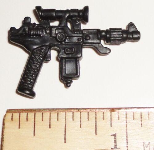 1987 Cobra Commander BIN A6   G I JOE Accessory   Black Auto Assault Pistol