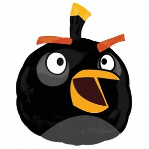 ANGRY-BIRDS-BALLOON-24-034-BLACK-ANGRY-BIRDS-PARTY-SUPPLIES-ANAGRAM-FOIL-BALLOON