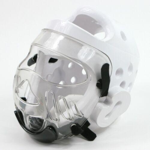 Face Shield for Dipped Foam TKD Karate Martial Arts Head Guard