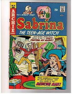Sabrina-the-Teenage-Witch-19-Vol-1-1974-VG-Archie-Comics