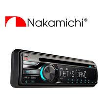 NAKAMICHI CD/USB Receiver 50W x 4 USB MP3 NA201  8 key remote