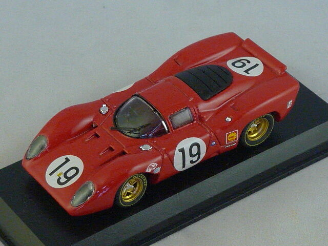 MODEL BEST 9152 - FERRARI 312 P LE MANS 1969 N°19 Amon - Schetty - 1 43