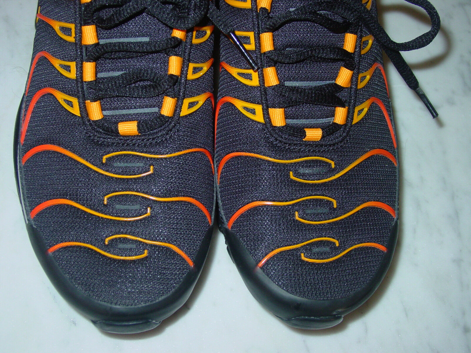 detailed look 9f09f 587f4 ... 2017 Nike Air Max 97 97 97 Plus Engine Shock orange shoes Size 9 SAMPLE  RARE ...