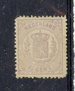 Netherlands-Scott-22-Mint-hinged-blunt-corner-Catalog-Value-475-00