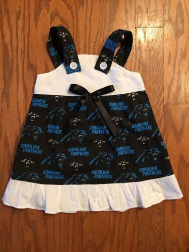 NFL Carolina Panthers Baby Infant Toddler Girls Dress YOU PICK SIZE *