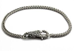 MODA Trollbeads Bracciale d Argento 19 cm TAGBR-00010