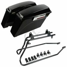 Borse rigide laterali + bracket per Harley Davidson HD Touring Road King Glide