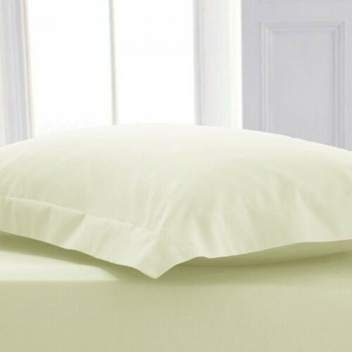 400TC Egyptian Cotton Housewife Pillow Case Pair Oxford Pillow cases Pair Covers