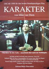 Karakter Filmposter A1 Mike van Diem Jan Decleir Fedja van Huêt Betty Schuurman