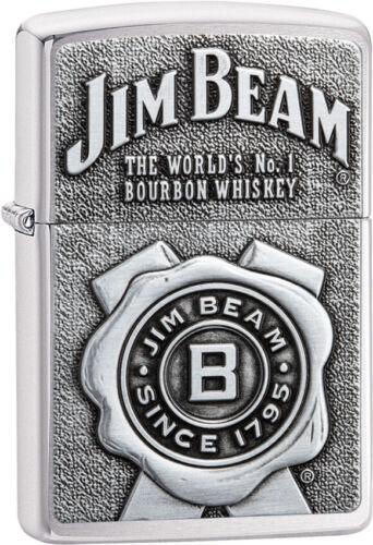 Zippo Lighter Jim Beam Emblem 08449