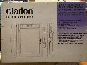 New-Clarion-VMA6492-6-4-034-Color-LCD-Monitor-NIB-RARE-NOS-vintage