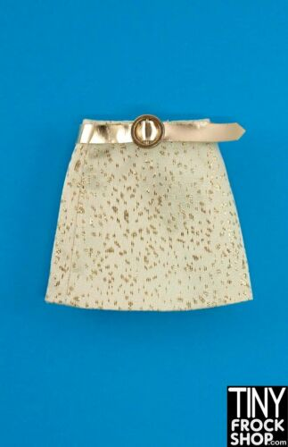Integrity Poppy Parker Gold Snap Cream And Gold Brocade Skirt