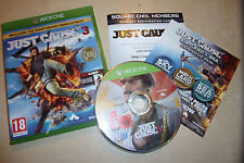XBOX ONE XB1 GAME JUST CAUSE 3 COMPLETE DISC IS EXCELLENT CONDITION SQUARE ENIX