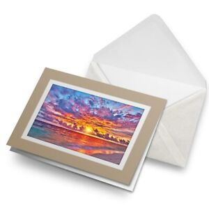 Greetings-Card-Biege-Maldives-Sunset-Beach-Paradise-21831