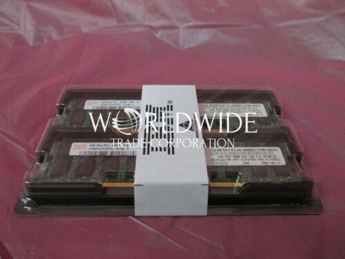 New IBM 41Y2768 41Y2851 43X5028 41Y2768 8GB 2x4GB PC2-5300 Memory DDR2 SDRAM