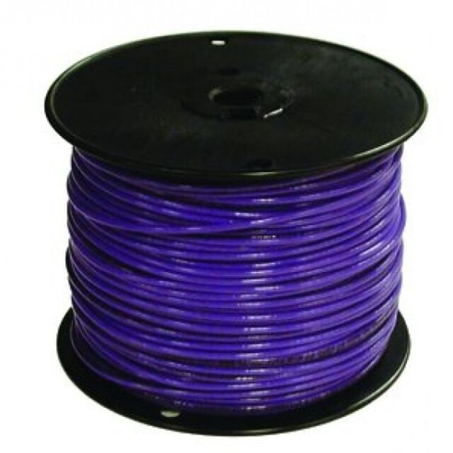Encore 18 awg tfn solid copper wire 500 ft spool in blue ebay encore 18 awg tfn solid copper wire 500 ft spool in blue greentooth Images