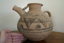 3300 Yr Old INDUS VALLEY POTTERY VESSEL. Thermoluminescence Test1300 B.C.E