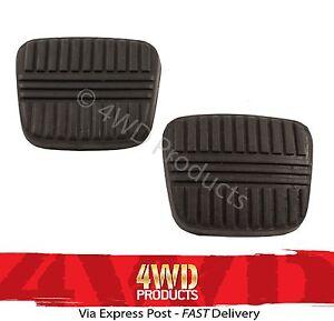 Brake-Clutch-Pedal-Pad-SET-for-Nissan-Patrol-MQ-MK-GQ-80-97-Maverick-88-94