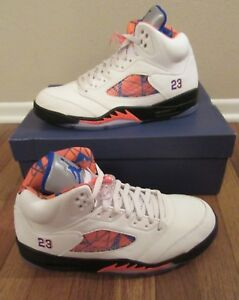 the latest 24175 4a084 Image is loading Nike-Air-Jordan-5-Retro-International-Size-11-