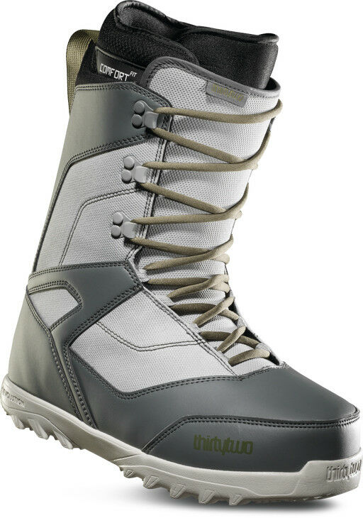 ThirtyTwo 32 - Prion   2019 - Mens Snowboard Boots   Grey   Green