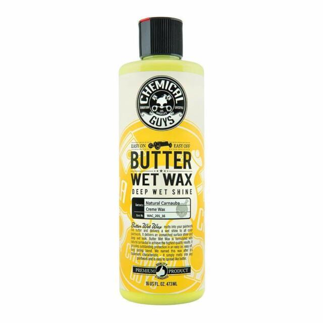 Chemical Guys - Butter Wet Wax Wet Look Shine Car Wax (16 oz) 16 Ounce