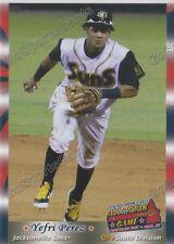 2016 Southern League All Star S Yefri Perez RC Rookie Miami Marlins