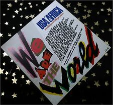 USA FOR AFRICA - We are the World * 1985 * TOP SINGLE (M-:) im TOP COVER