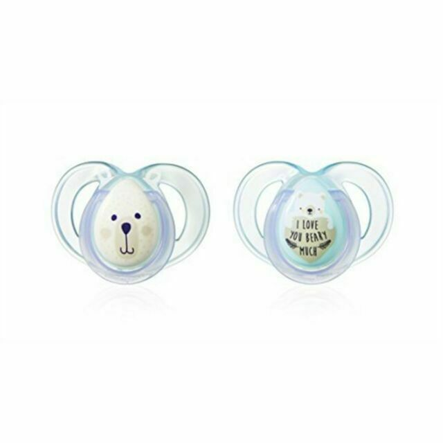 Tommee Tippee Night Time Soother 6-18m Bear