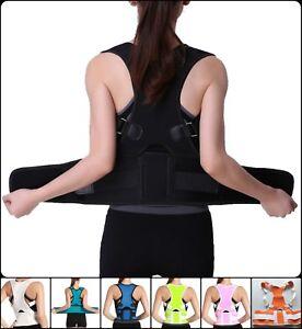 back posture corrector vest shoulder harness spine