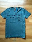 Men's Tees Casual Sports Gym Short Sleeve Placket Dark Green T-Shirts Tops