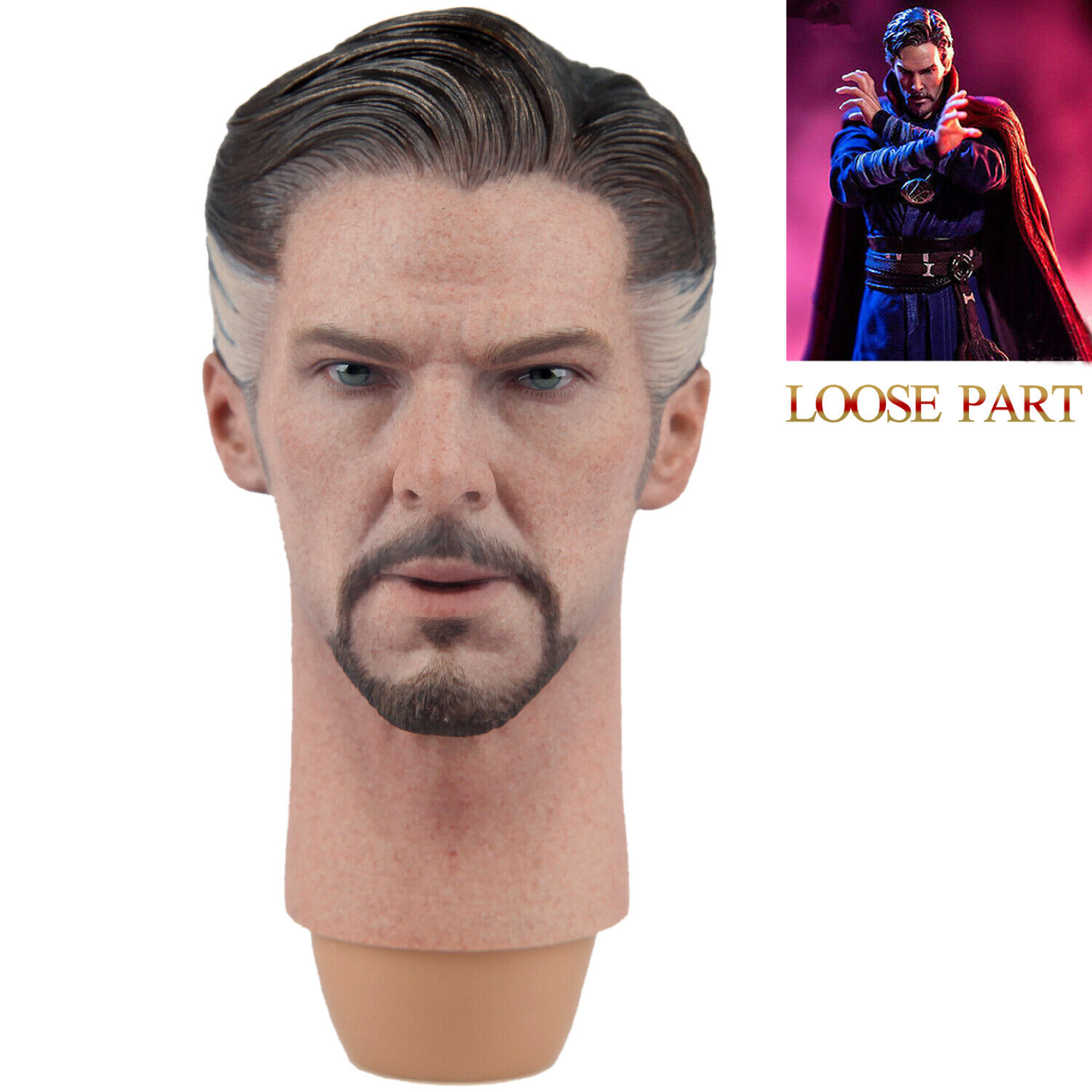 Hot Toys MMS484 Avengers Infinity War DOCTOR STRANGE 1 6th Scale Head Sculpture