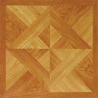Wood Vinyl Floor Tiles 20 Pcs Self Adhesive Flooring - Actual 12'' X 12'' on sale