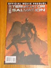 TERMINATOR SALVATION OFFICIAL MOVIE PREQUEL #4 RI COVER 2009 IDW
