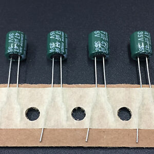 WL LOW Z Electrolytic Capacitor  5X11mm 50pcs 47uF 35V47UF SUNCON SANYO