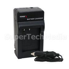 Battery Rapid AC/Car Charger Kit for Nikon EN-EL19 Coolpix S100 S2500 S3100