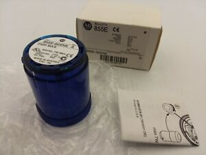 ALLEN-BRADLEY-855E-00XN6-STACK-LIGHT-BLUE-STEADY-250V-MAX-SERIES-A-NIB