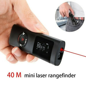 40m Super Mini Digital LCD Laser Distance Meter Range Finder Measure Tape Tool