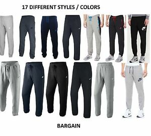 4e309c589574 Image is loading Mens-Nike-Fleece-Joggers-Tracksuit-Bottoms-Track-Sweat-