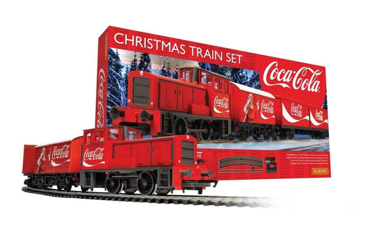 Hornby  R1233  The CocaCola Christmas Train Set BRe nuovo