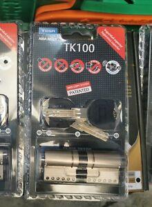 Bombin Tesa TK100 Alta Seguridad 35x35 plateado