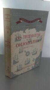 I Tecnico Della Colonisations 1946 Spilla Presse Univ. Di Francia ABE
