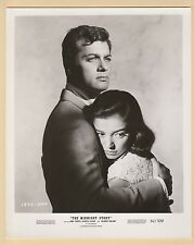 XXL  PHOTOGRAPH  -  FILM  STARS  -  TONY  CURTIS  &  MARISA  PAVAN  -  1957