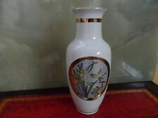 The art of Chokin vase, Gilded With Gold And Silver Japanese vase