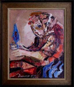 Akademischer-russischer-Maler-Alexander-Diener-1958-Sehnsucht-in-Paris-xxx