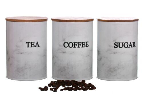 Retro Vintage Copper Tea Coffee Sugar Storage Jars Canisters Set Air Tight Lid